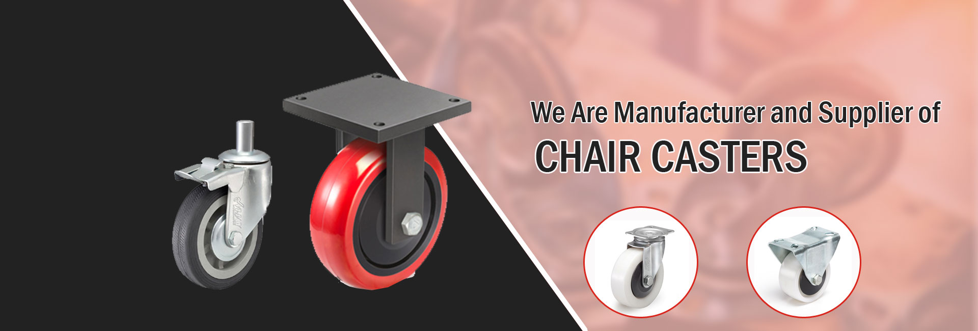Chair casters manufacturer in India